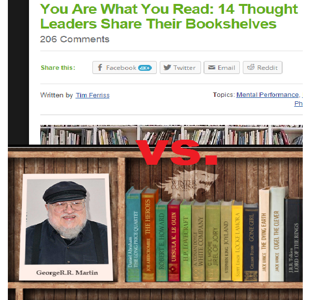 You Are What You Read vs. Want to Write Better Infographic