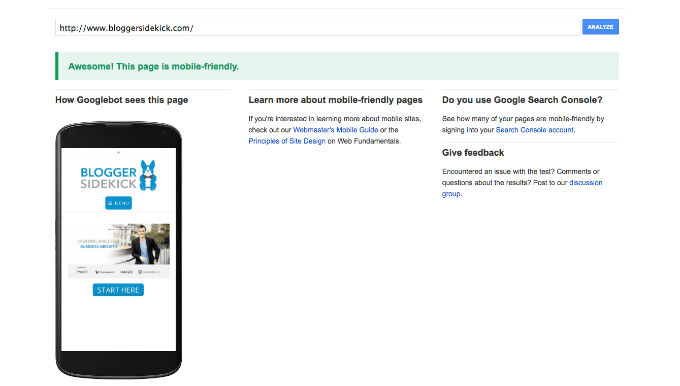 Will your website pass Google's mobile friendly test?