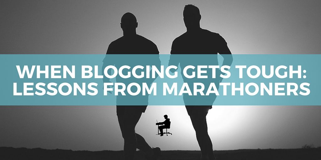 Blog momentum: Lessons from marathoners
